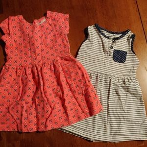 Carter's 24m and 2t dresses